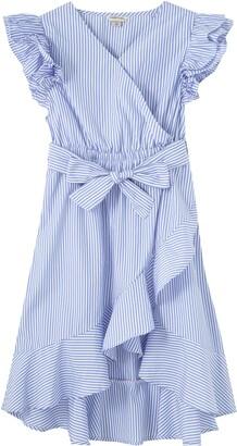 Habitual Kids' Shae Faux Wrap Dress