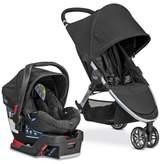 Britax B-Agile/B-Safe 35 Travel System Stroller in Black