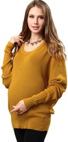 Sweet Mommy Organic Cotton Dolman Knit Maternity and Nursing Sweater MUM