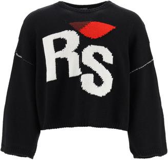 Raf Simons Rs Intarsia Sweater