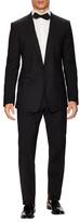 Dolce & Gabbana Wool Solid Shawl Lapel Tuxedo