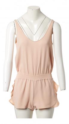 Stella McCartney Pink Viscose Jumpsuits