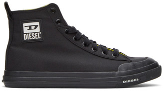 Diesel Black S-Astico MC Sneakers