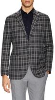 Lubiam Wool Plaid Sportcoat