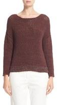 Fabiana Filippi Women's Mollini Trim Cotton Blend Sweater