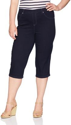 Just My Size Women's Apparel Women's Plus Size Stretch Jegging Capri
