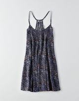 American Eagle Don't Ask Why Racerback Slip Dress