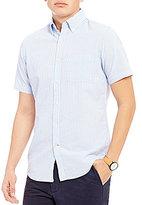 Daniel Cremieux Slim-Fit Stripe Seersucker Short-Sleeve Woven Shirt