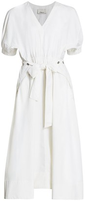 3.1 Phillip Lim Utility Belted Dress
