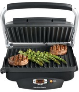 "Hamilton Beach 100"" Steak Lovers Indoor Searing Grill - 25331"