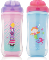 Dr Browns Purple Mermaid 10-Oz. Spoutless Stage 4 Sippy Cup - Set of Two