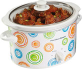 Hamilton Beach Swirl 3-qt. Oval Slow Cooker