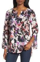 Chaus Women's Garden Eclipse Pintuck Blouse