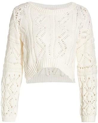 Jonathan Simkhai Madelyn Rib-Knit Sweater