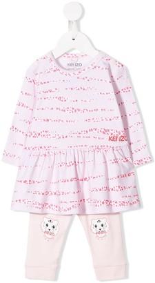 Kenzo Animal Print Dress Set