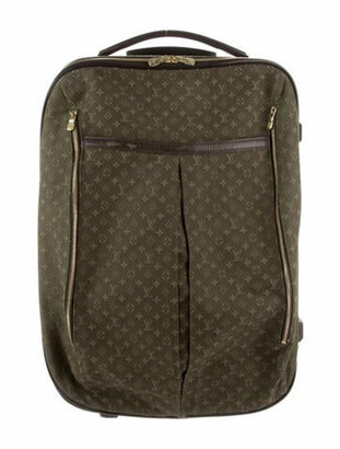 Louis Vuitton Mini Lin Annette Luggage Olive