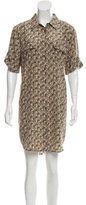 Equipment Silk Button-Up Dress w/ Tags
