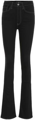 3x1 The Maya Skinny Flare high-rise jeans