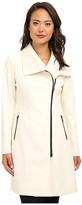 DKNY Asymmetrical Walker Coat 14964I-Y4