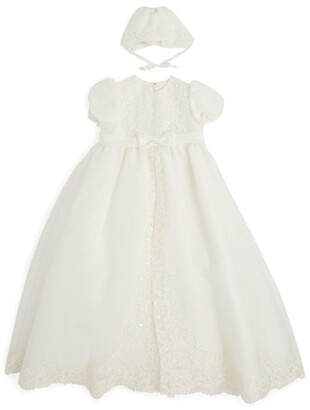 Sarah Louise Beaded Christening Dress (3-12 Months)