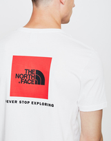 The North Face Black Label Short Sleeve Red Box T-Shirt White