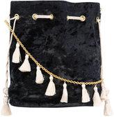Kayu drawstring tassel bag