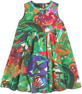 Marni Printed poplin dress