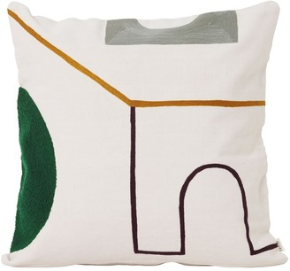 ferm LIVING Mirage Gate Cotton Pillow
