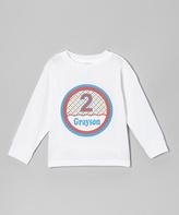Swag White Birthday Boy Personalized Tee - Kids & Tween