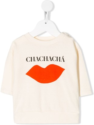 Bobo Choses Chachachá lips print T-shirt