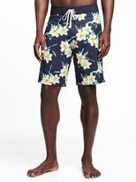 """Old Navy Printed Board Shorts for Men (9 1/2"""")"""