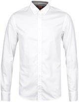 Boss Orange Epidoe White Long Sleeve Shirt