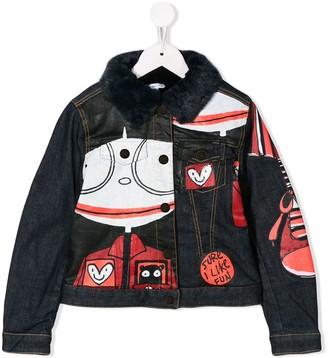 Little Marc Jacobs Sure I Like Fun denim jacket