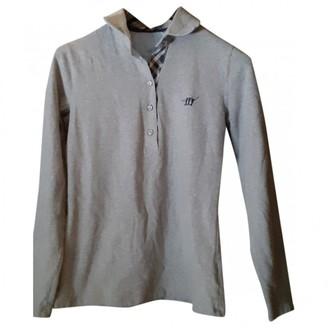 Henry Cotton Grey Cotton Knitwear for Women