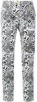 Philipp Plein straight leg leopard print jeans