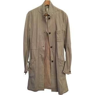 Isaac Sellam Ecru Leather Coats