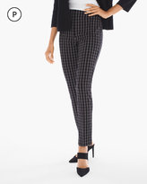 Chico's Juliet Windowpane Print Ankle Pants