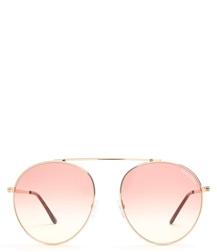 Tom Ford Simone round sunglasses