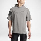 Nike City) Men's Short Sleeve Running Hoodie