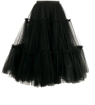 Brognano Tulle Full Shape Skirt