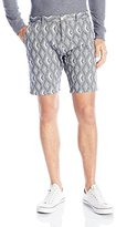 Scotch & Soda Men's Chino Short In Jacquard Patterns