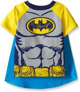 Warner Bros. Warner Brothers Boys' Toddler Batman Cape Tee Set