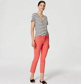 LOFT Tall Curvy Kick Crop Jeans