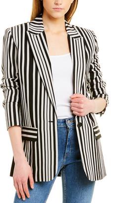 The Kooples The Crazy Stripes Suit Blazer