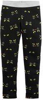 Carter's Girls 4-8 Cat Eyes Leggings
