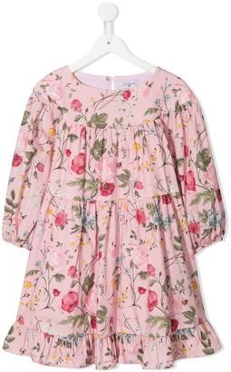 MonnaLisa Long Sleeves Print Dress