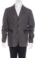 Marni Nylon-Trimmed Wool Sport Coat