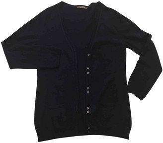 Non Signé / Unsigned Non Signe / Unsigned Blue Cashmere Knitwear for Women