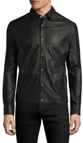 BLK DNM 20 Leather Collar Jacket