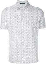 Zanone floral-print shirt